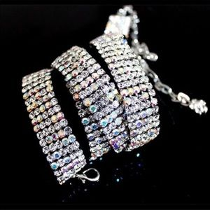 Crystal Faux Diamond Sparkly Chain Belt